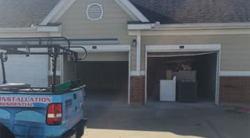 Garage Door Flood Repair